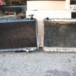 LandCruiser: old and new radiator