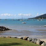 Boats harbouring at Airlie Beach