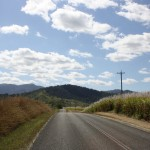 On the way to Finch Hatton Gorge