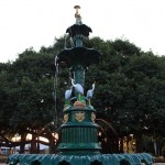 Fountain in Queens Park, Maryborough