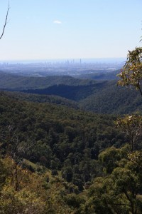 Gold Coast skyline from Wunburrah Lookout