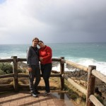 The easternmost couple on Australian mainland at Cape Byron