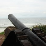 Old cannon at Town Beach Park