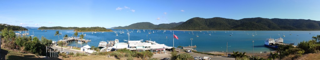Airlie Beach's beautiful seascape