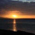 Sunset over Bustard Bay at 1770