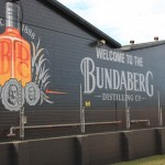 At the Bundaberg distillery