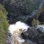 The top of the Dangarsleigh Falls